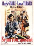 Honky Tonk - Italian Movie Poster (xs thumbnail)