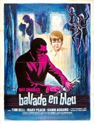 Ballad in Blue - French Movie Poster (xs thumbnail)
