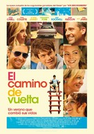 The Way Way Back - Spanish Movie Poster (xs thumbnail)