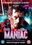 Maniac - DVD cover (xs thumbnail)