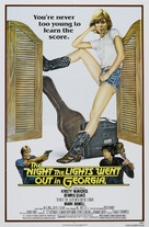 The Night the Lights Went Out in Georgia - Movie Poster (xs thumbnail)