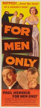 For Men Only - Movie Poster (xs thumbnail)