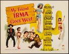 My Friend Irma Goes West - Movie Poster (xs thumbnail)