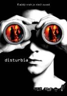 Disturbia - Slovak Movie Poster (xs thumbnail)