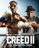 Creed II - Italian Movie Poster (xs thumbnail)
