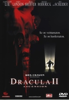 Dracula II: Ascension - Finnish DVD movie cover (xs thumbnail)