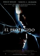 Unbreakable - Spanish Movie Poster (xs thumbnail)