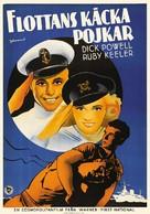 Shipmates Forever - Swedish Movie Poster (xs thumbnail)