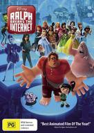 Ralph Breaks the Internet - Australian DVD movie cover (xs thumbnail)