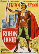The Adventures of Robin Hood - Danish Movie Poster (xs thumbnail)