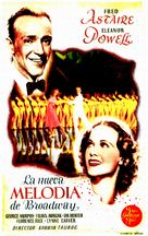 Broadway Melody of 1940 - Spanish Movie Poster (xs thumbnail)