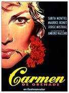 Carmen la de Ronda - French Movie Poster (xs thumbnail)
