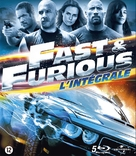 The Fast and the Furious - Belgian Blu-Ray cover (xs thumbnail)