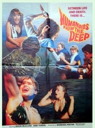 Humanoids from the Deep - Pakistani Movie Poster (xs thumbnail)