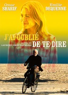 J'ai oublié de te dire - French Movie Poster (xs thumbnail)