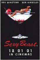 Sexy Beast - British Movie Poster (xs thumbnail)