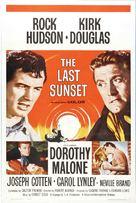 The Last Sunset - Movie Poster (xs thumbnail)