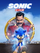 Sonic the Hedgehog - Italian Video on demand movie cover (xs thumbnail)
