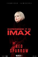 Red Sparrow - Singaporean Movie Poster (xs thumbnail)