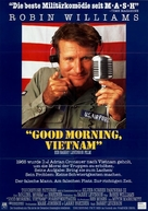Good Morning, Vietnam - German Movie Poster (xs thumbnail)