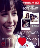 The Truth About Love - Polish DVD cover (xs thumbnail)