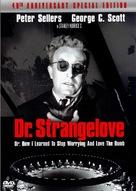 Dr. Strangelove - DVD cover (xs thumbnail)