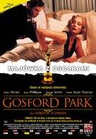 Gosford Park - Polish Movie Poster (xs thumbnail)