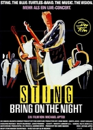 Bring on the Night - German Movie Poster (xs thumbnail)