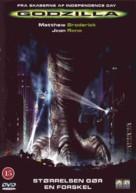 Godzilla - Danish DVD movie cover (xs thumbnail)