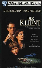The Client - German VHS movie cover (xs thumbnail)