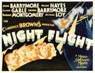 Night Flight - Movie Poster (xs thumbnail)