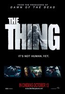 The Thing - Singaporean Movie Poster (xs thumbnail)
