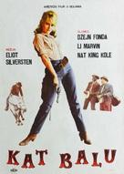 Cat Ballou - Yugoslav Movie Poster (xs thumbnail)