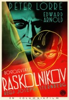 Crime and Punishment - Swedish Movie Poster (xs thumbnail)