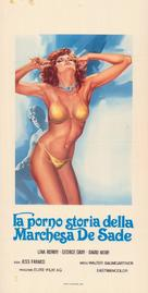 Die Marquise von Sade - Italian Movie Poster (xs thumbnail)