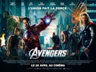 The Avengers - French Movie Poster (xs thumbnail)
