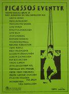 Picassos äventyr - Danish Movie Poster (xs thumbnail)