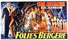 Folies-Bergère - Belgian Movie Poster (xs thumbnail)