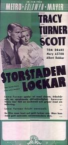 Cass Timberlane - Swedish Movie Poster (xs thumbnail)