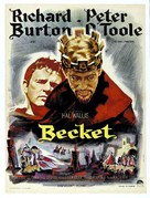 Becket - French Movie Poster (xs thumbnail)