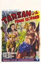 Tarzan and the Leopard Woman - Belgian Movie Poster (xs thumbnail)