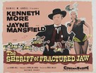 The Sheriff of Fractured Jaw - British Movie Poster (xs thumbnail)