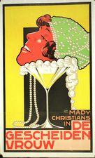 Geschiedene Frau, Die - Dutch Movie Poster (xs thumbnail)