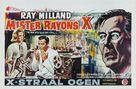 X - Belgian Movie Poster (xs thumbnail)