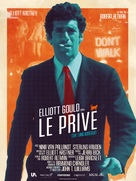 The Long Goodbye - French Re-release movie poster (xs thumbnail)