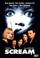 Scream - DVD movie cover (xs thumbnail)
