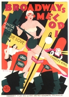 The Broadway Melody - Swedish Movie Poster (xs thumbnail)