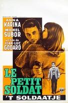 Le petit soldat - Belgian Movie Poster (xs thumbnail)
