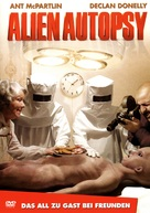 Alien Autopsy - German DVD movie cover (xs thumbnail)