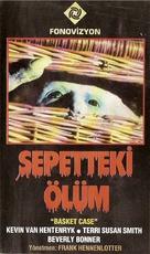 Basket Case - Turkish VHS movie cover (xs thumbnail)